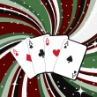 Gambling cards — Stockfoto