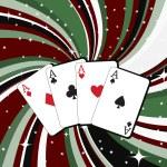 hazard karty — Zdjęcie stockowe