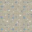 Royalty-Free Stock Photo: Stars retro abstract  Background