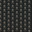 Skull and bone pattern - Stock Photo