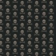 Skull and bone pattern — Stock Photo