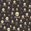 Stock Photo: Skull and bones