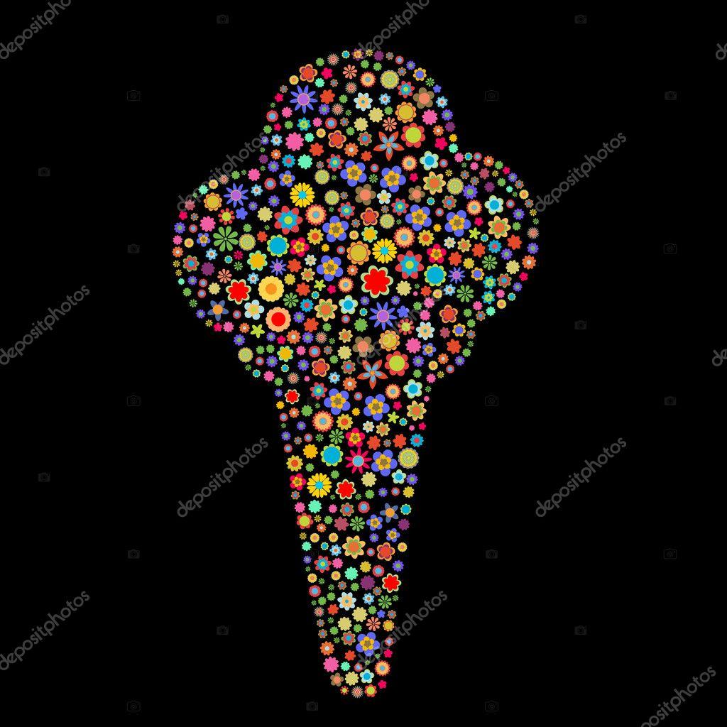 Dondurma şekli — Stok Foto © trilingstudio #1117775