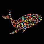 Whale shape — Stock Photo #1120437