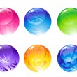 Decoration balls — Stock Photo