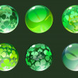 Stock Photo: Decoration balls