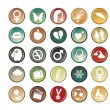 Circle buttons — Stock Photo