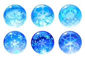 Winter balls — Stock Photo