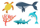 Sea animals — Stock Photo