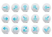 Arrow buttons — Stock Photo