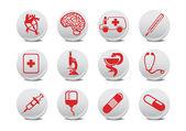 Medicine icons — Stock Photo