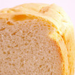 Royalty-Free Stock Photo: The cut bread on a white background