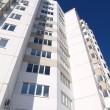 Stock Photo: Apartment house against sky
