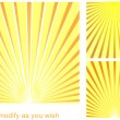 Sun_beam_background — Stock Vector