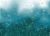 Rain_background — Stock Vector