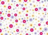 Summer_flowers_background — Stock vektor