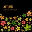 Colorful autumn leafs — Stock Vector #1357421
