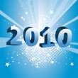 Royalty-Free Stock Vector Image: 2010 new year composition.