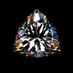 3d brilliant cut diamond — Stock Photo #1390866