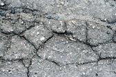 Old asphalt road surface texture — Stock Photo