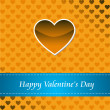 Card of Happy Valentines day — Stock Photo #1605602