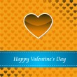 Card of Happy Valentines day — Stock Photo