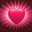 Royalty-Free Stock Photo: Heart Background.Valentine\'s Day symbol