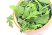 Green salad with arugula — Stock Photo