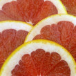 Royalty-Free Stock Photo: Pomelo cut slices