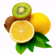 Stock Photo: Lemon Kiwi