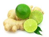 Citrus and ginger — Stock Photo
