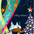 Royalty-Free Stock Vector Image: Christmas - New Year background. Vector