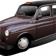 Royalty-Free Stock Vectorafbeeldingen: London taxicab. Vector illustration