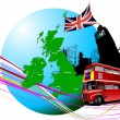 Stock Vector: England images. Vector illustration