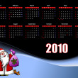 2010 calendar - Vettoriali Stock 