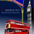 Zipper open Grate Britain  flag — Image vectorielle