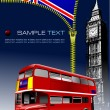 Zipper open Grate Britain  flag — Imagen vectorial