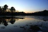 Pôr do sol — Foto Stock