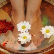 Massage of feet — Stock Photo