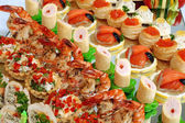 Mesa de buffet — Foto Stock