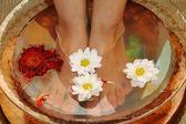 Massage of feet — Stock Photo