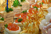 Buffet table — Stock Photo