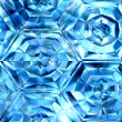Stock Photo: Icy honeycomb