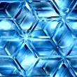 Stock Photo: Icy lattice