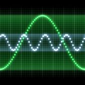 Signal graph — Stock Photo