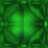 Green crystal — Stock Photo