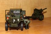 Toy model ZIS-5v — Stock Photo