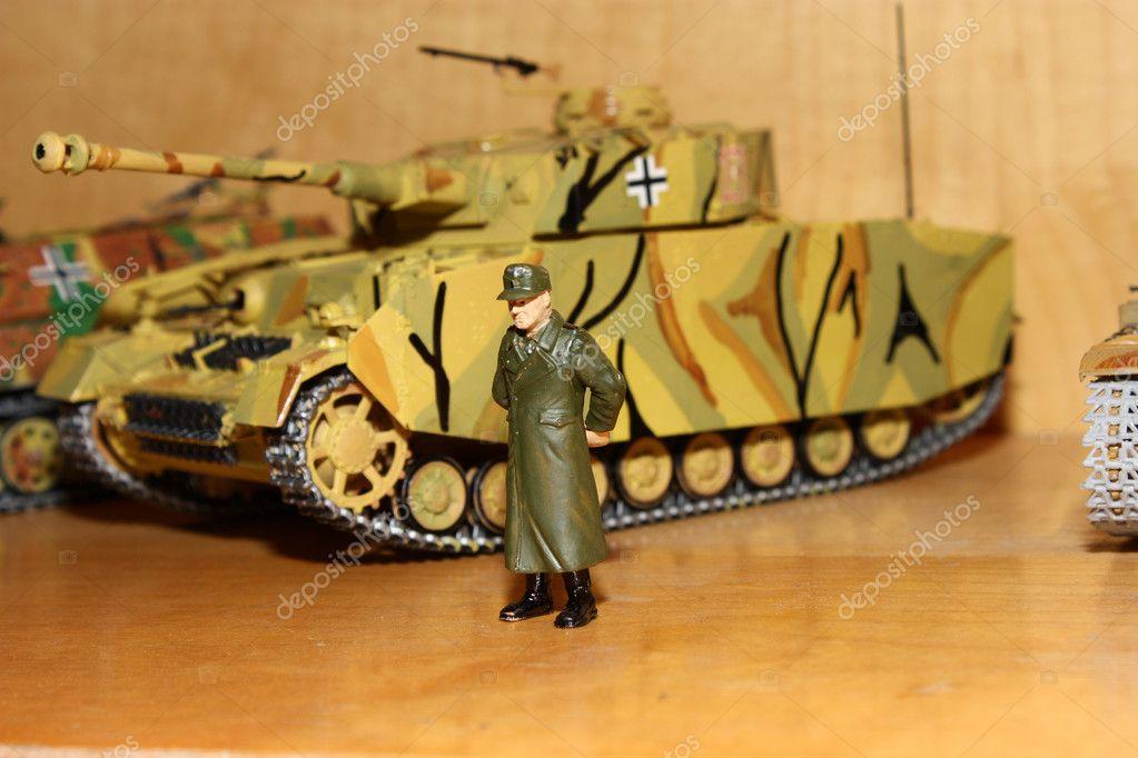 Toy Model Gallery : Toy model t iv — stock photo sav rina
