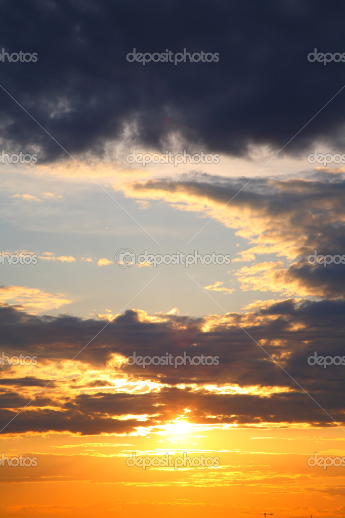 This sundown, skyes landscape, sunset — Stock Photo #1122383