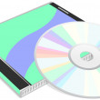 CD disk — Image vectorielle